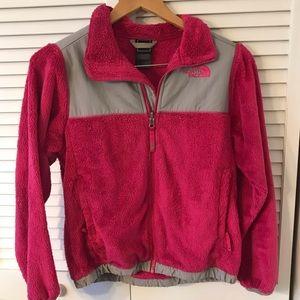 Girls North Face pink jacket